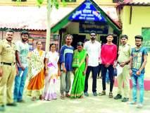 'सोशल मीडिया'ने विवाहित महिला पोहोचली कुटुंबीयांपर्यंत
