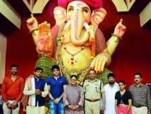 Ganesh Chaturthi 2018; लोकमत एडिटोरियल बोर्डचे चेअरमन,माजी खासदार विजय दर्डा यांनी घेतले गणरायाचे दर्शन