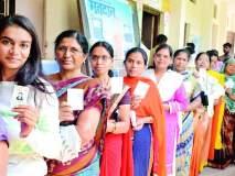 Lok Sabha Election 2019; पारा ४१, मतदान ६१%
