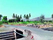 ब्राह्मणगाव : महालपाटणे रोड चौफुलीच्या मोरीवर कठडा नसल्याने अपघात सटाणा-मालेगाव रस्त्यावर वाहनचालकांना धोका