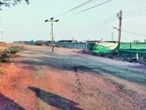 विल्होळी रस्त्यावरील वीज खांबामुळे अपघातात वाढ
