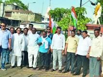 काँग्रेसकडून कर्नाटकातील लोकशाही विजयाचा जल्लोष
