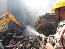 कोल्हापूरात आग, १५ लाखांचे नुकसान, डोळ्या समोर राहते घर आगीच्या भक्षस्थानी
