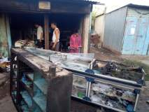 सातारा :खटावमध्ये लॉन्ड्री व स्टेशनरी दुकानाला आग