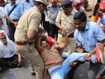 मोदी, फडणवीस यांनी राजीनामा द्यावा : उमा पानसरे, जेल भरो आंदोलन