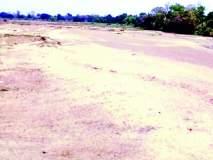 जीवनदायिनी चुलबंद नदीचे पात्र पडले कोरडे