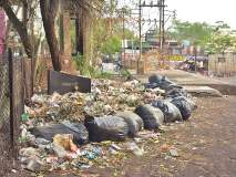 शहरात कचऱ्याचे ढिगारे; मनपाची आरोग्य यंत्रणा कोलमडली