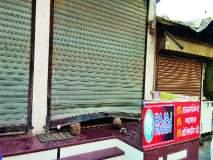 अभोण्यात मोबाइल दुकान फोडले