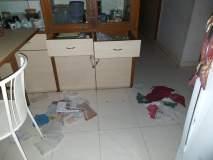 कोल्हापूर : बसंत-बहार परिसरात चोरट्यांनी फलॅट, कार्यालय फोडले: दोघे चोरटे सीसीटीव्हीत कैद
