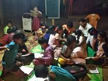 भंगारवाल्यांच्या मुलांना ज्ञानार्जनाचे धडे  'उमेद'चे यशस्वी पाऊल : ३४ विद्यार्थ्यांच्या पंखात भरले बळ