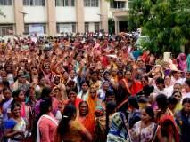 परभणीत वैद्यकीय महाविद्यालयासाठी महिलांचे आंदोलन
