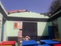अमळनेर तालुक्यात वादळी पावसामुळे ६२ घरांचे छत उडाले