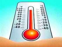 शहराचे तापमान ३५ अंशांवर