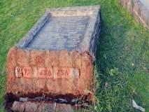शिवाजीराजांच्या पुतळ्याची कोनशिला कोसळली, केडीएमसीचे दुर्लक्ष