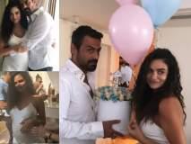 गर्लफ्रेन्डच्या बेबी शॉवर पार्टीत अर्जुन रामपाल बनला डीजे, पाहा फोटो
