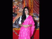PHOTO बॉलिवूडच्या कलाकारांनी लावली दुर्गा पूजेला हजेरी