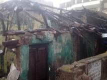 भिवंडीतील आगीत चार खोल्या जळाल्या