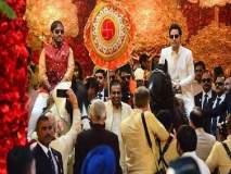 Isha Ambani Wedding: ईशा अंबानीच्या घरी बॉलिवूडच्या अंदाजात वरातीसोबत पोहचले आनंद पिरामल