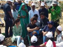 महाराष्ट्र लवकरच दुष्काळमुक्त होणार, महाराष्ट्र दिनी आमीर खानचे फत्तेपुरात महाश्रमदान