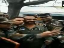 Video : विंग कमांडर अभिनंदन यांच्यासोबत सेल्फी काढण्यासाठी जवानांचीही गर्दी