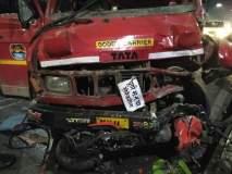 पुण्यात बीआरटी रोडवर डंपर-बाईकचा भीषण अपघात, दोन कॉलेज तरुणांचा दुर्देवी मृत्यू