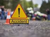 कामशेत येथे अपघातात वृद्ध महिला गंभीर जखमी