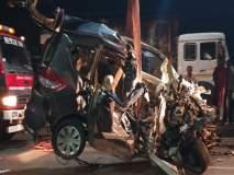 pune accident: भीषण अपघातामुळे यवत गावावर शोककळा; सर्व बाजारपेठांमध्ये कडकडीत बंद