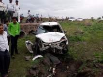 कार-दुचाकी अपघातात एकाचा जागीच मृत्यू; केज तालुक्यातील घटना