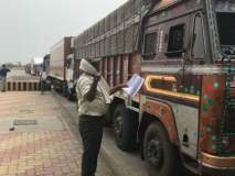 ई-वे बिल तपासणी मोहिमेत ३९२ ट्रकची तपासणी