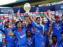 India vs Afghanistan Test : पुन्हा पाहा धोनीचा हेलिकॉप्टर शॉट, ऐतिहासिक कसोटीत अफगाणिस्तानच्या संघात 'MS'