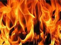 देवळाली प्रवरामधील दोन घरांना आग