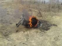 जोधपूरमध्ये वायुसेनेचे मिग 27 लढाऊ विमान कोसळलं