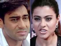 'सिंघम'च्या बायकोची 'सटकली', काजोलची अजय देवगणला 'धमकी'