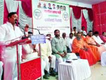 काँग्रेसने गावागावांत विकासाऐवजी गुंडगिरीचे महापाप पोहोचविले : पालकमंत्री