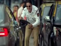 ...अन् ट्रॅफिक पोलीस बनून अक्षय कुमार उतरला रस्त्यावर