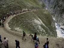 Amarnath Yatra : बलाटल मार्गावर दरड कोसळून 5 भाविकांचा मृत्यू