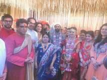 'राज'पुत्राच्या लग्नात वऱ्हाडी कोण कोण; अमित ठाकरेंना आशीर्वाद देण्यासाठी हे खास पाहुणे होते उपस्थित