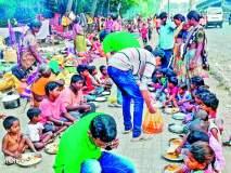 अन्न फेकून न देता दान करा! गरिबांच्या पोटाला पोटभर देणारी माणसे