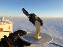 फोटो : अंटार्टिकामध्ये जेवण तयार करण्याचा करत होता प्रयत्न आणि...