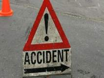 जळगावात महामार्गावर ट्रक, कार, दुचाकीचा अपघात