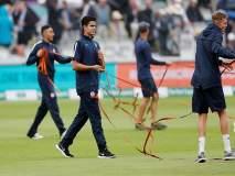 India vs England 2nd Test: लॉर्ड्सची खेळपट्टी वाचवण्यासाठी अर्जुन तेंडुलकरची धडपड!