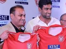 IPL 2018 :'अश्विनला पंजाबचा कर्णधार करण्याचा निर्णय सेहवागचा'
