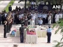 Atal Bihari Vajpayee Funeral: अटलबिहारी वाजपेयींची चिरनिद्रा; मानसकन्येनं दिला मंत्राग्नी