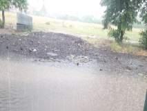 वादळी पाऊस : संगमनेरात दोघे जखमी