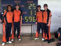 Awesome : ऑस्ट्रेलियाच्या क्रिकेटपटूंनी कुटल्या 50 षटकांत 596 धावा