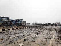 Pulwama Terror Attack: देश हादरवणाऱ्या दहशतवादी हल्ल्याची भीषण दृश्यं...