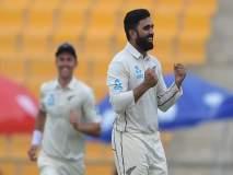 मुंबईकर अजाझने आणली पाकिस्तानला गिरकी; न्यूझीलंडच्या विजयात गाजली 'फिरकी'!