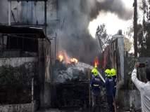 Video - बदलापूरमध्ये केमिकल कंपनीला भीषण आग