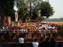 बाळासाहेब यांचा पाचवा स्मृतीदिन, आदरांजली वाहण्यासाठी शिवसैनिकांची गर्दी