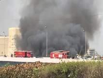 वांद्रे येथील नर्गीस दत्तनगर झोपडपट्टीत भीषण आग